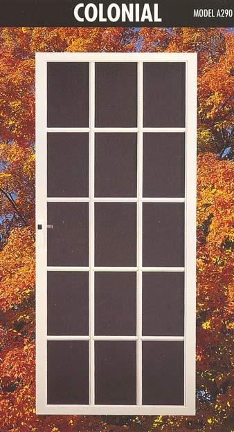 Extruded aluminum extruded aluminum screen frame for Screen door frame