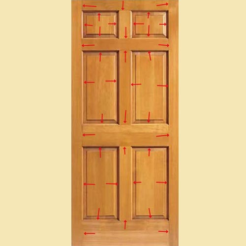 ... Wood Six Panel Door - Why Buy-fiberglass Door-durability Speaking Of Doors