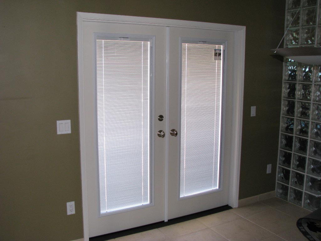 French Doors with Blinds Inside 1024 x 768