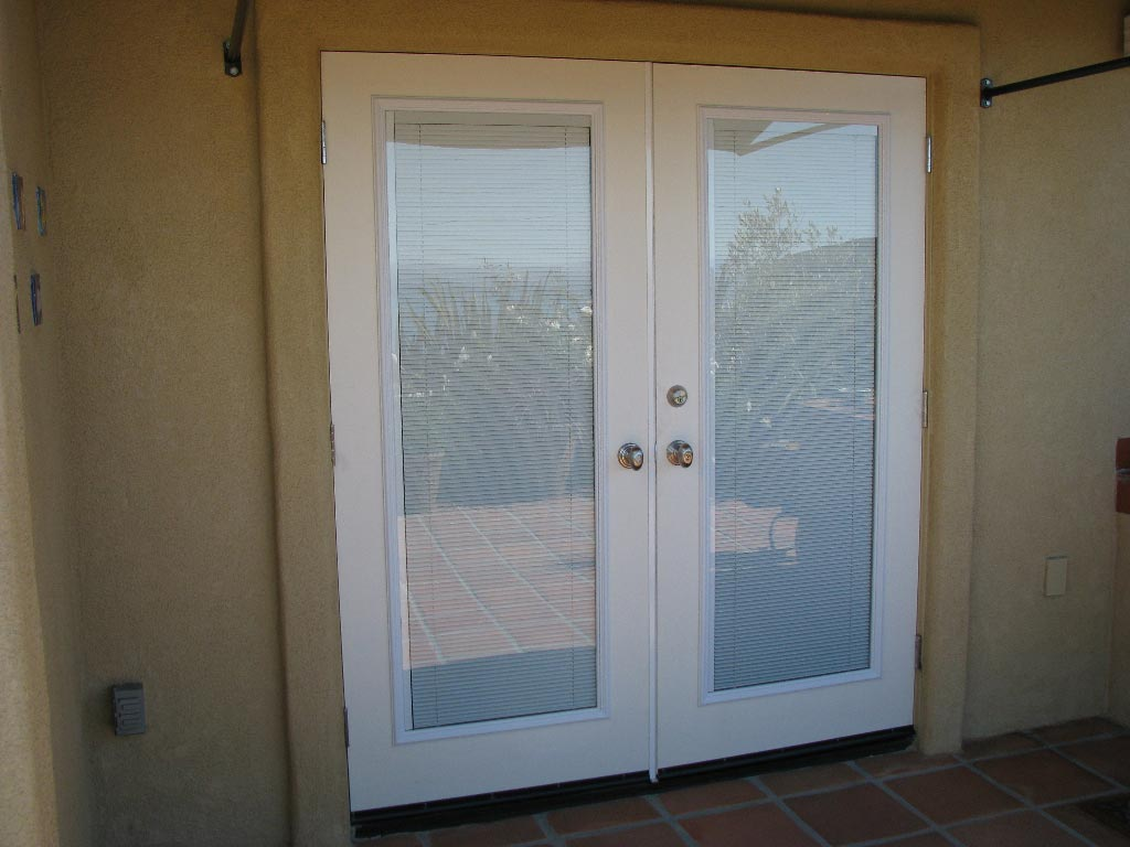 Quality door installation san luis obispo the door guy - Home depot french doors with blinds ...